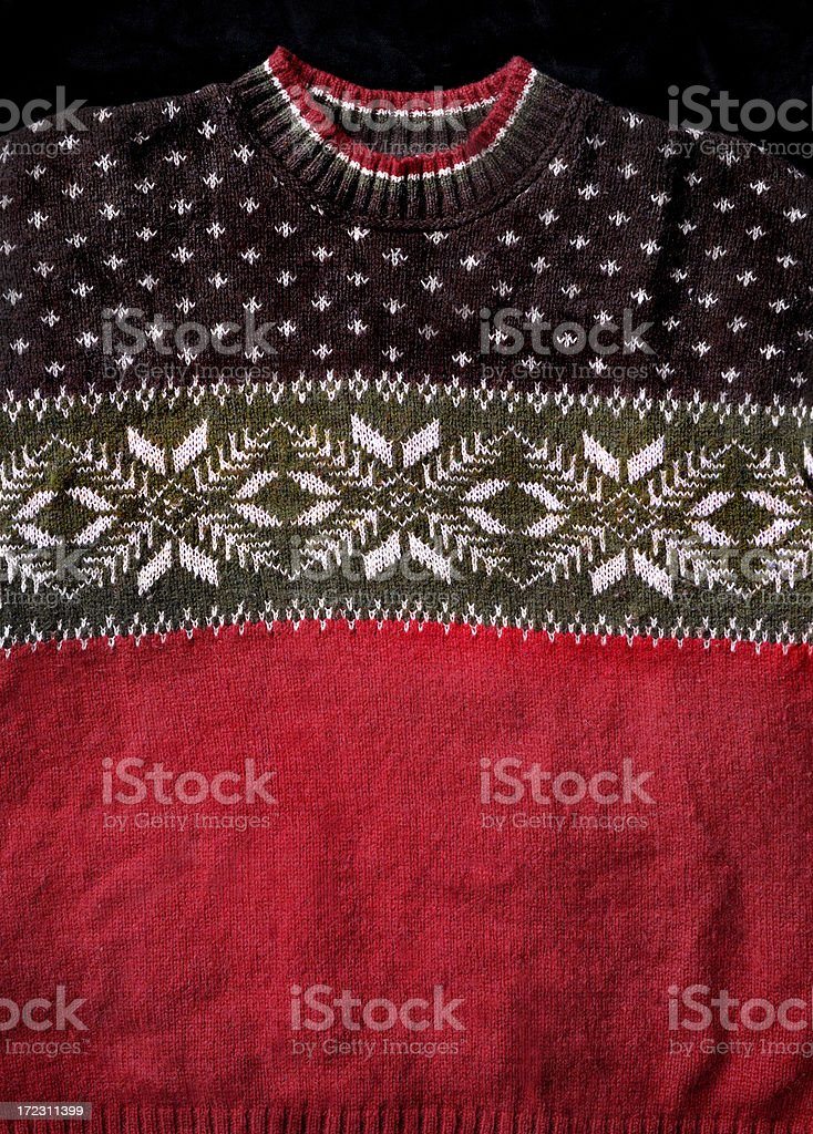 Christmas Sweater royalty-free stock photo