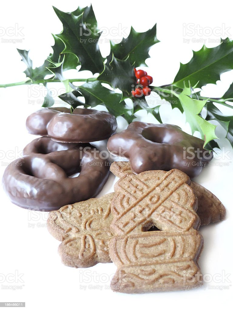 christmas sweets stock photo