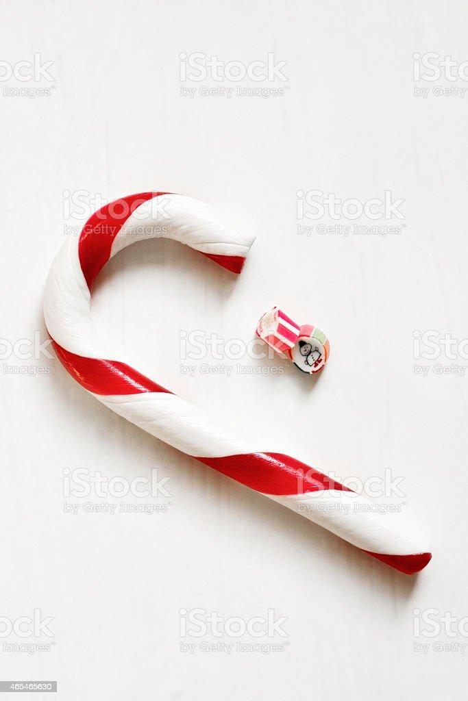 Christmas sweets stock photo