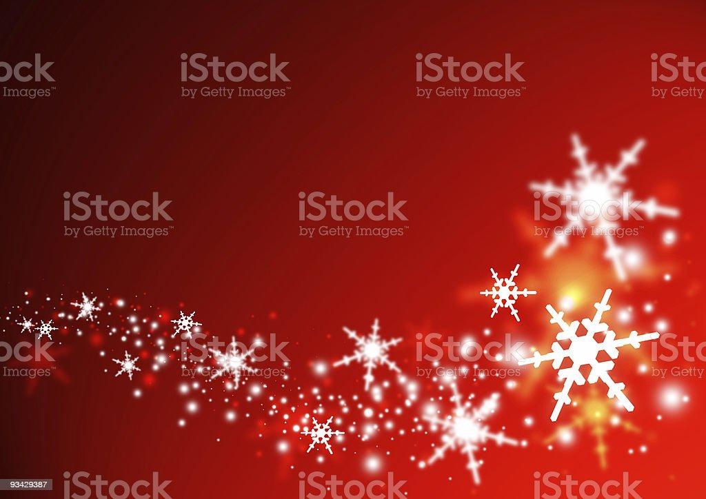 Christmas Swirl royalty-free stock photo