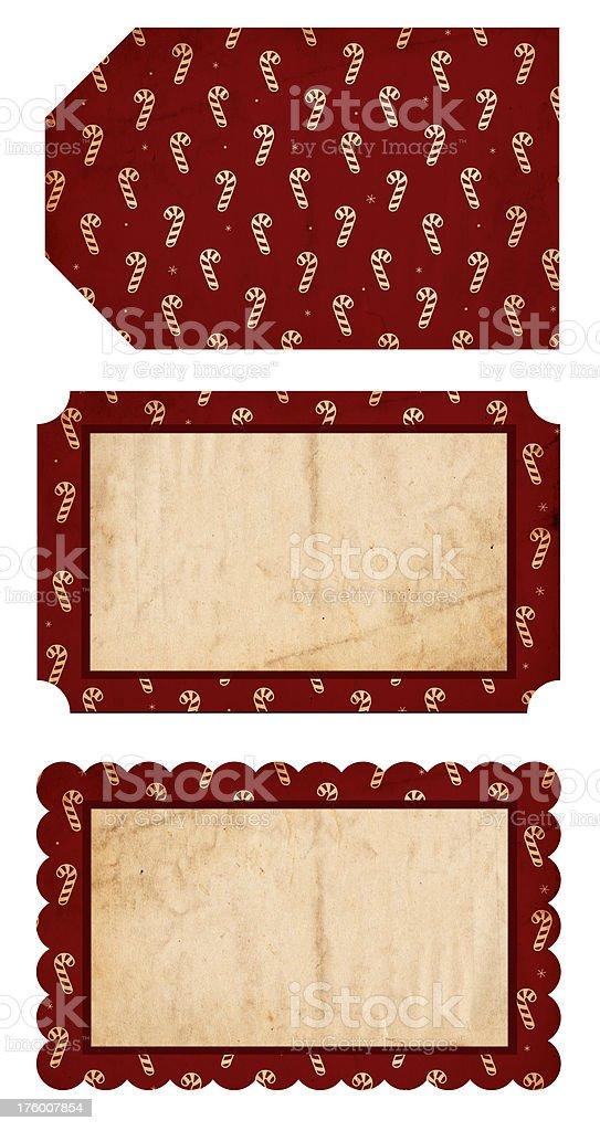 Christmas Tags XXXL royalty-free stock photo