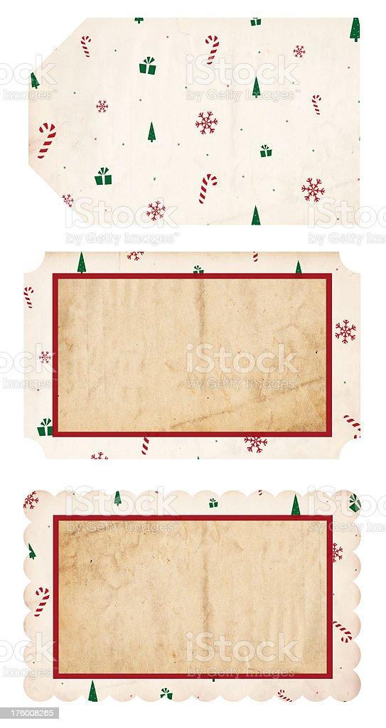 Christmas Tags XXXL stock photo