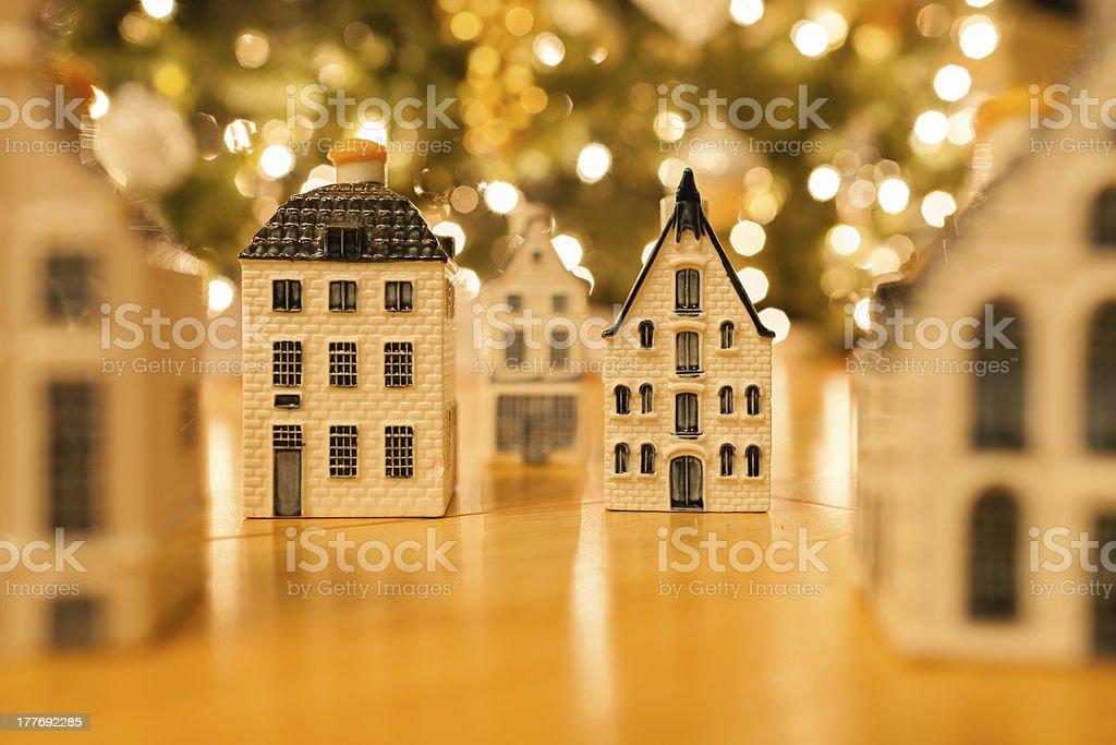 Christmas town royalty-free stock photo