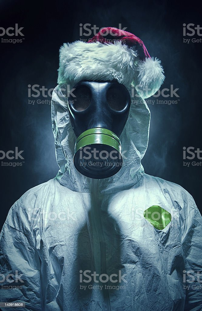 Christmas Toxicity stock photo
