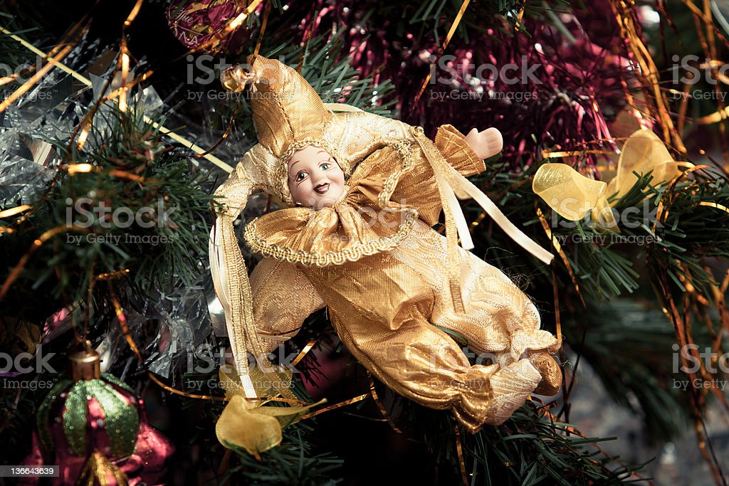 Christmas toy royalty-free stock photo