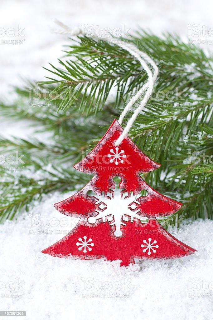 Christmas toy royalty-free stock photo