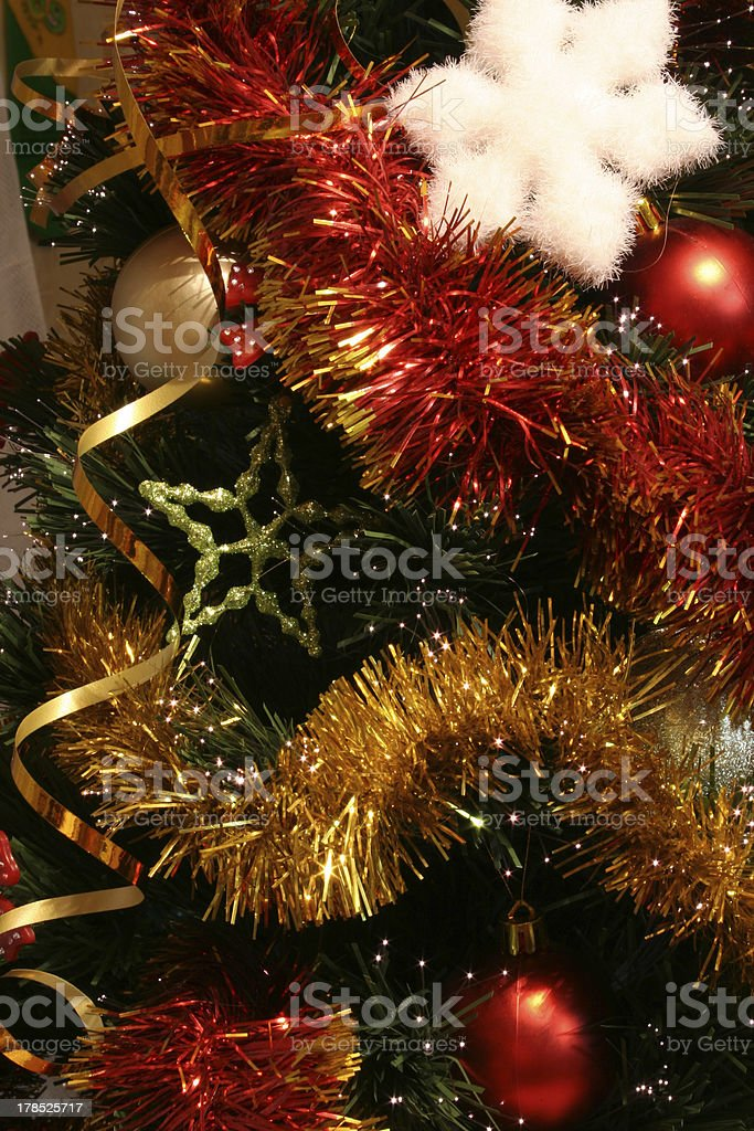 Christmas tree 01 royalty-free stock photo