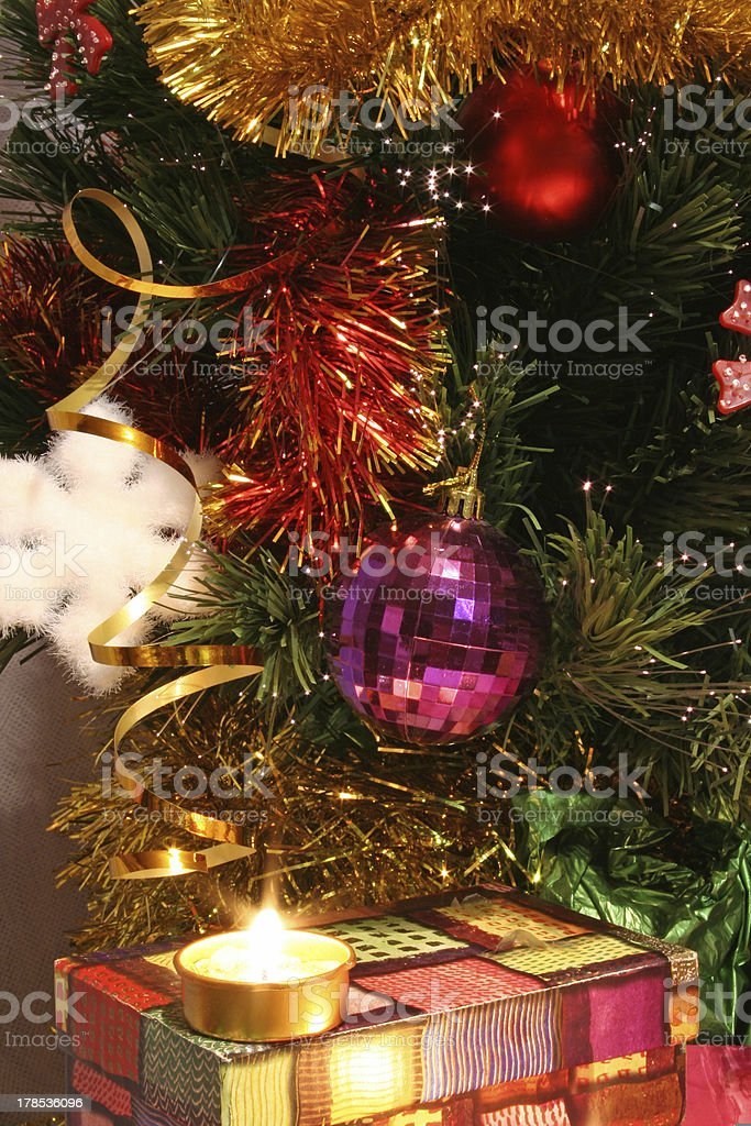 Christmas tree 02 royalty-free stock photo