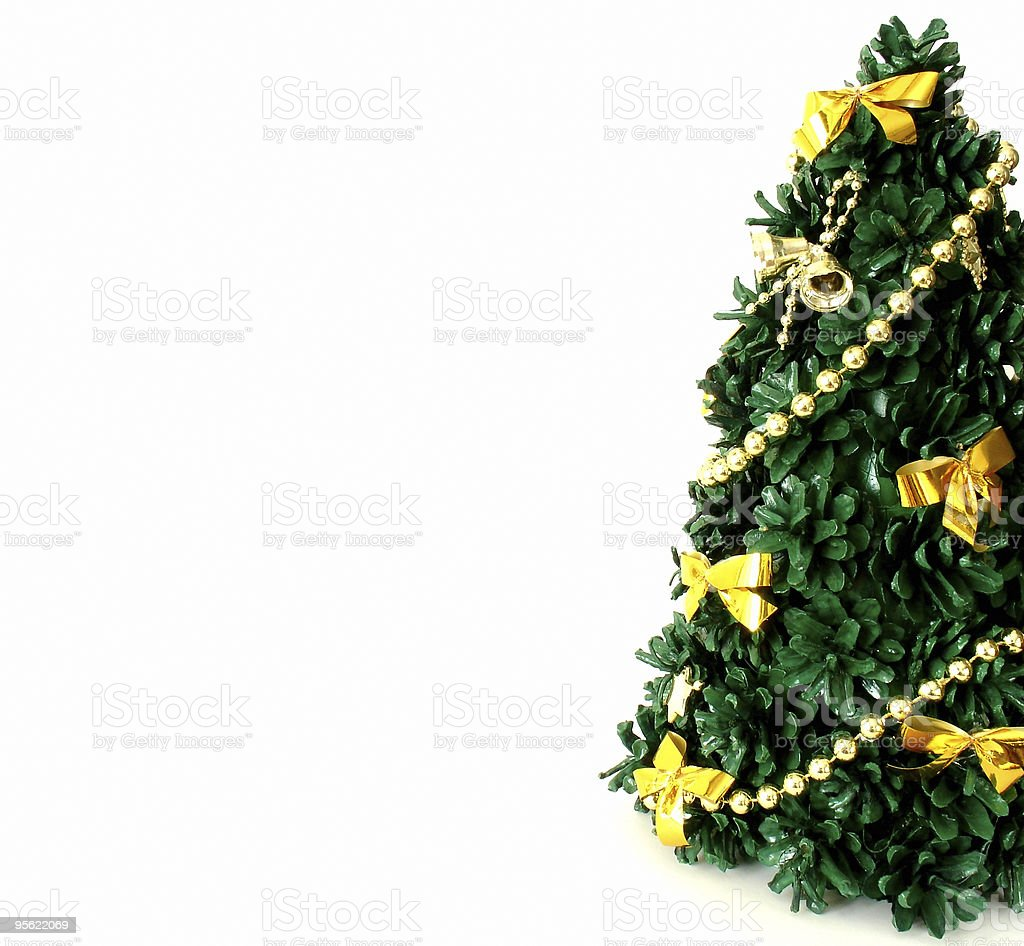 christmas tree 2 royalty-free stock photo