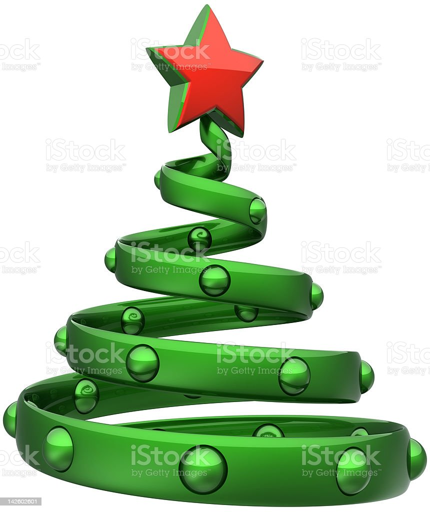 Christmas tree abstract Happy New Year decoration concept royalty-free stock photo