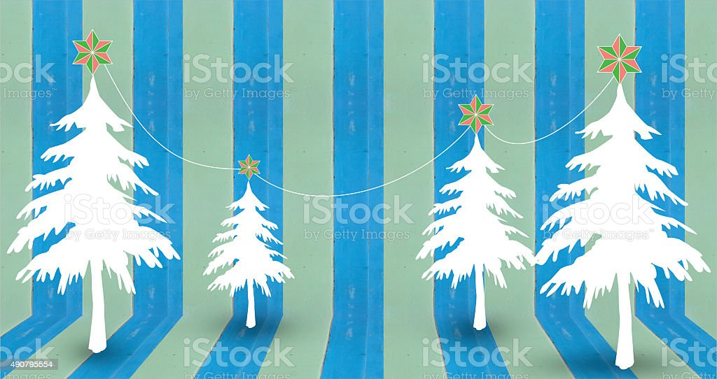 christmas tree background design royalty-free stock photo