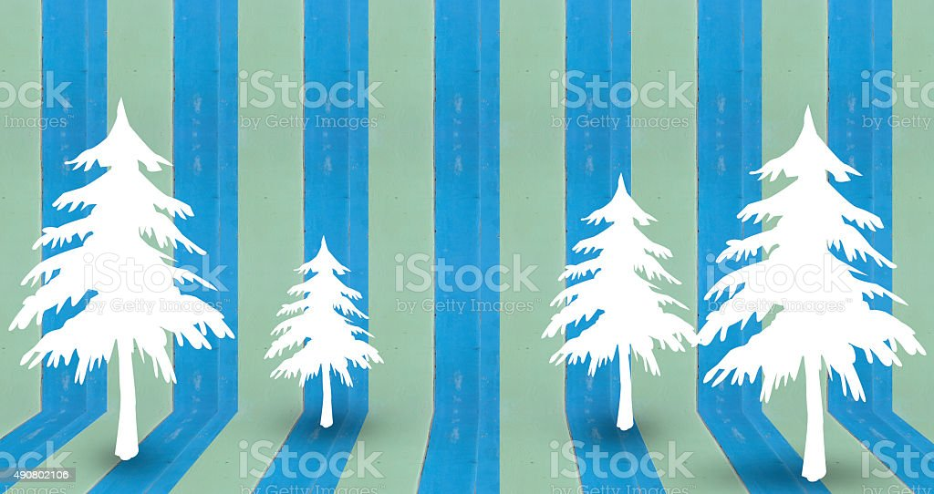 christmas tree background design royalty-free stock photo