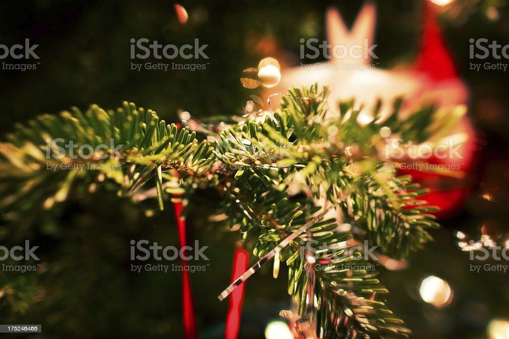 Christmas Tree Background  - effect royalty-free stock photo