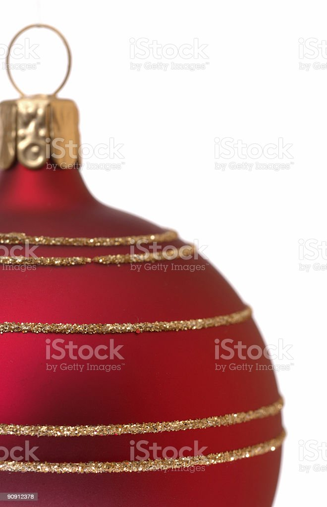 Christmas tree ball royalty-free stock photo