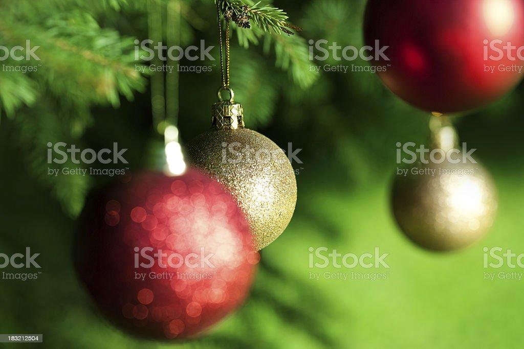 Christmas tree decoration Bauble royalty-free stock photo
