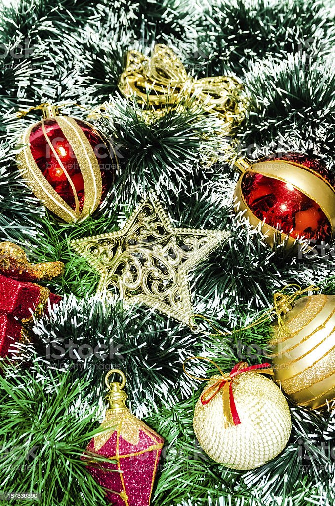 Christmas tree decoration. royalty-free stock photo