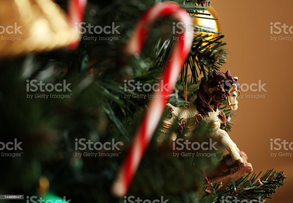Christmas Tree Decorations royalty-free stock photo