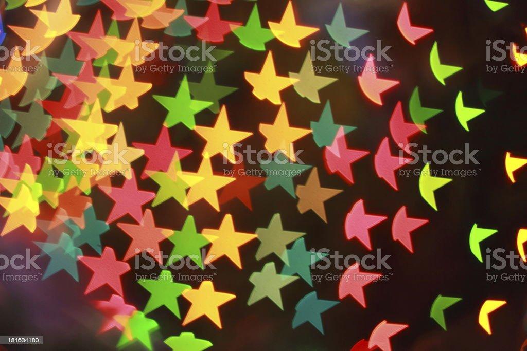 Christmas Tree Lights royalty-free stock photo