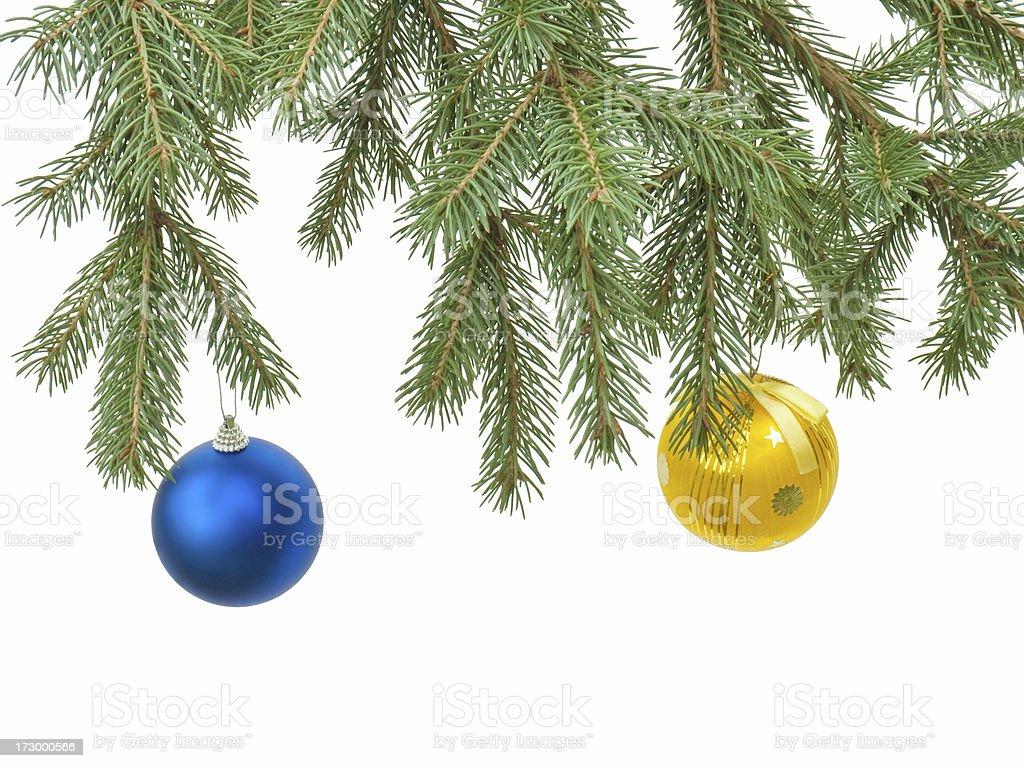 Christmas tree royalty-free stock photo