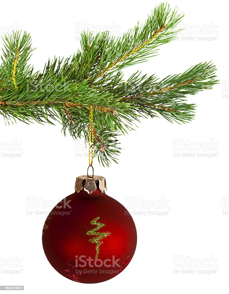 Christmas tree royalty-free stock photo