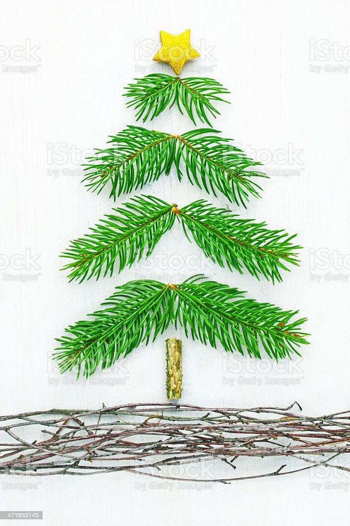 Sapin de Noël photo libre de droits
