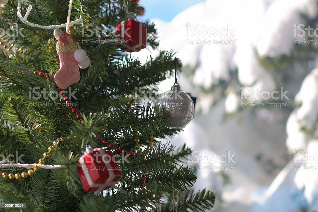 Christmas tree - Stock image stock photo