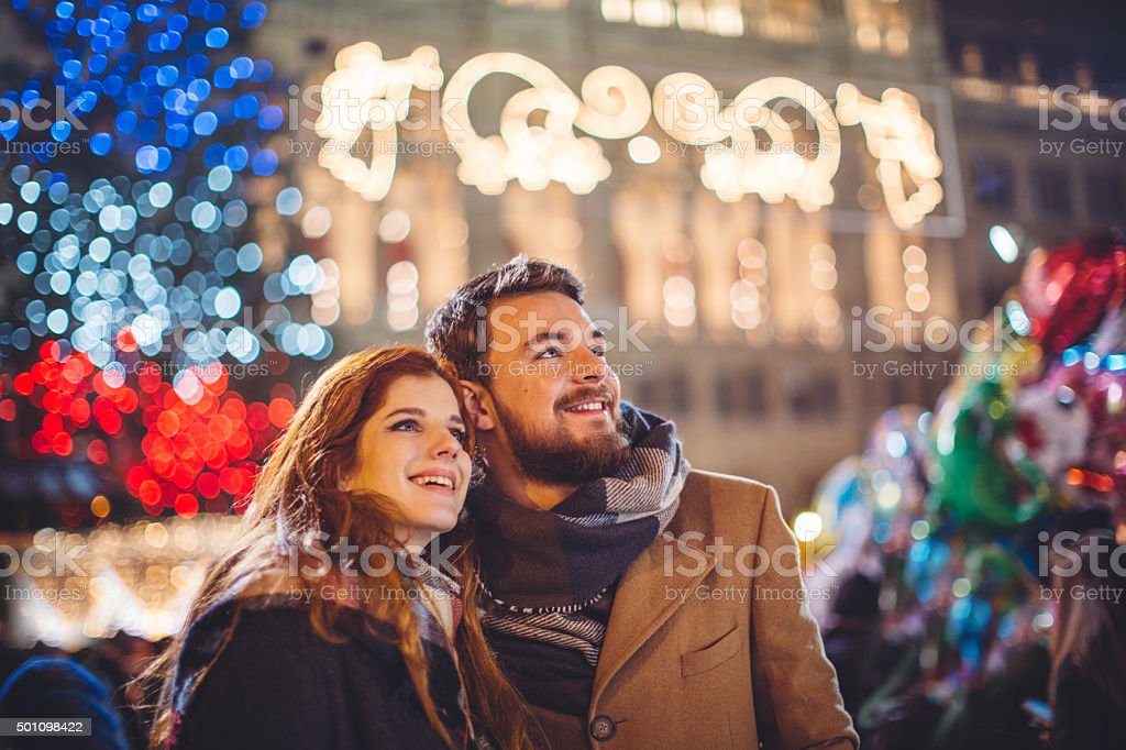 Christmas vacation stock photo