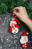 Christmas wall decoration,