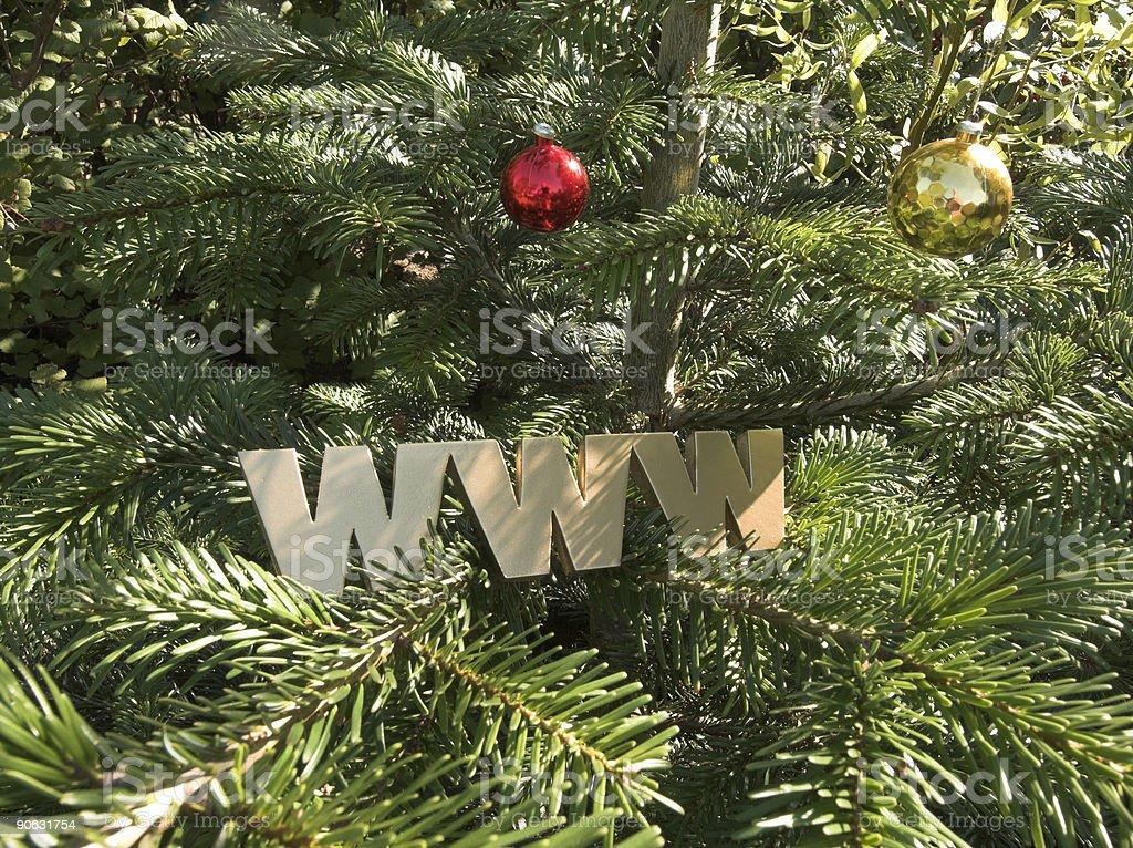 Christmas  Web royalty-free stock photo
