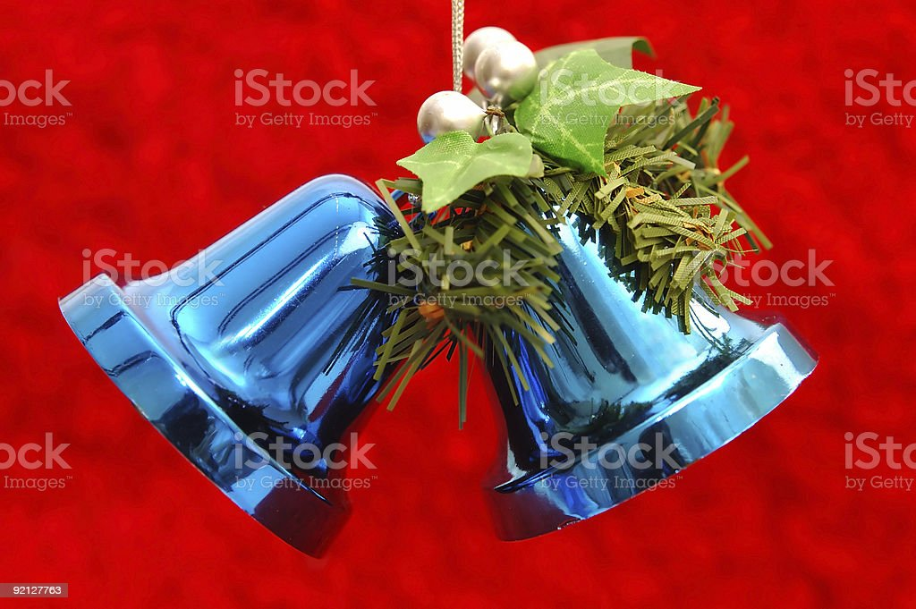 Christmas wedding bells royalty-free stock photo