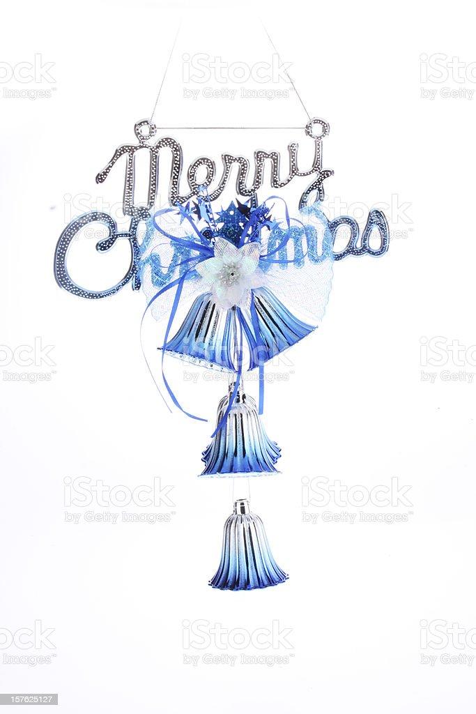 Noël Carillons éoliens photo libre de droits
