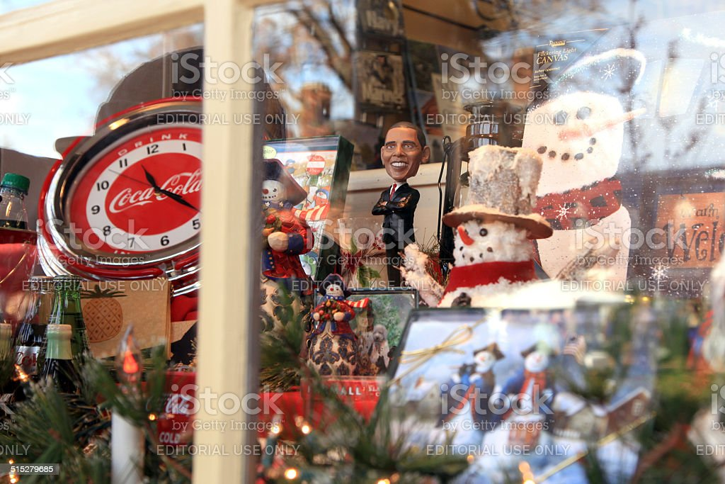 Christmas Window stock photo