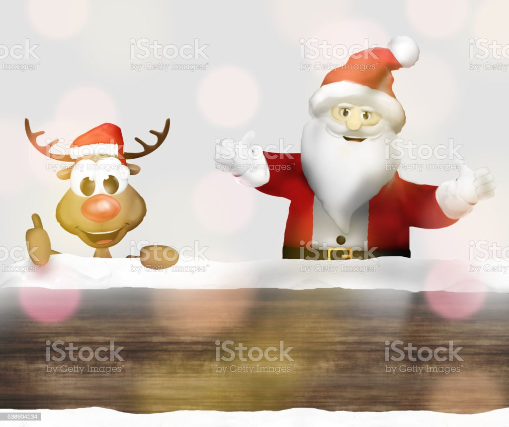 christmas winter festive background 3d figure render design graphic stock photo