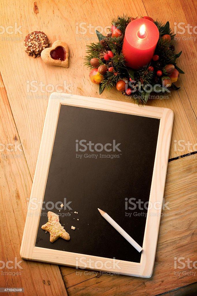 christmas wishlist royalty-free stock photo