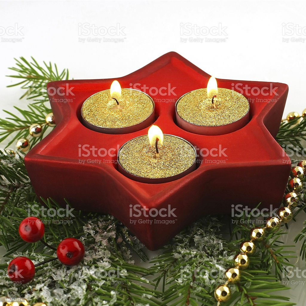 christmas сomposition royalty-free stock photo