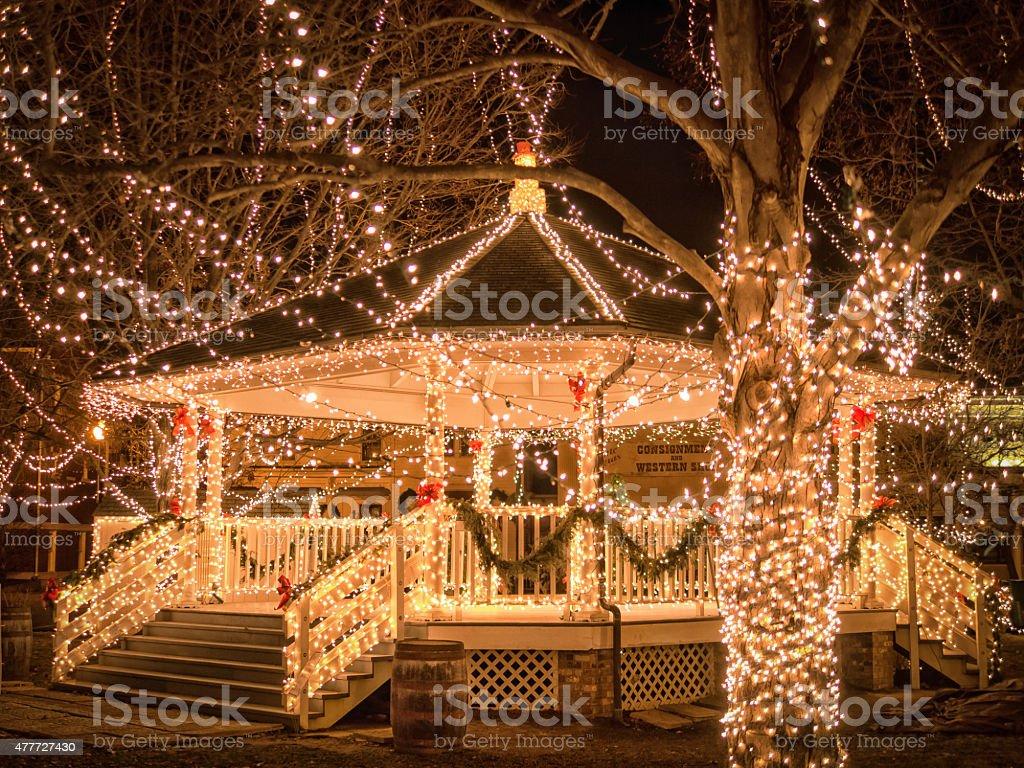Christmas Wonderland stock photo