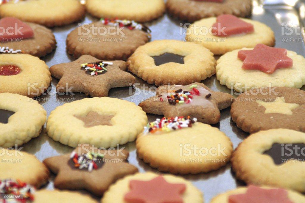 Christmas Xmas Cookie royalty-free stock photo