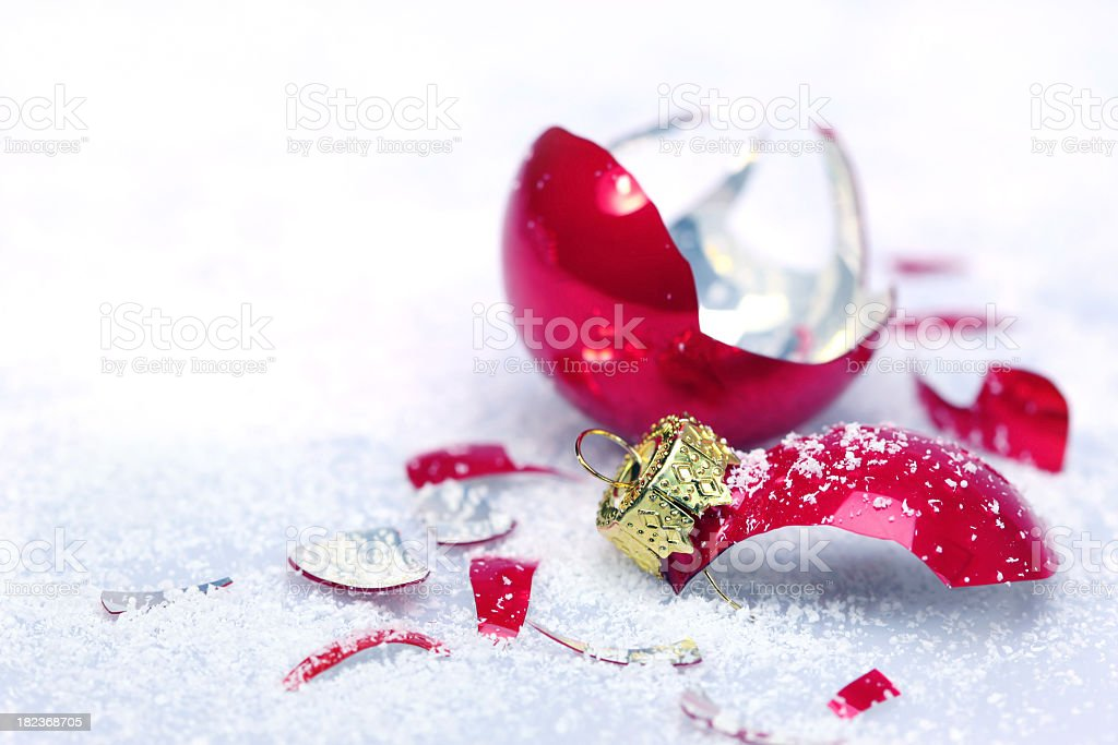 Christmass crash royalty-free stock photo