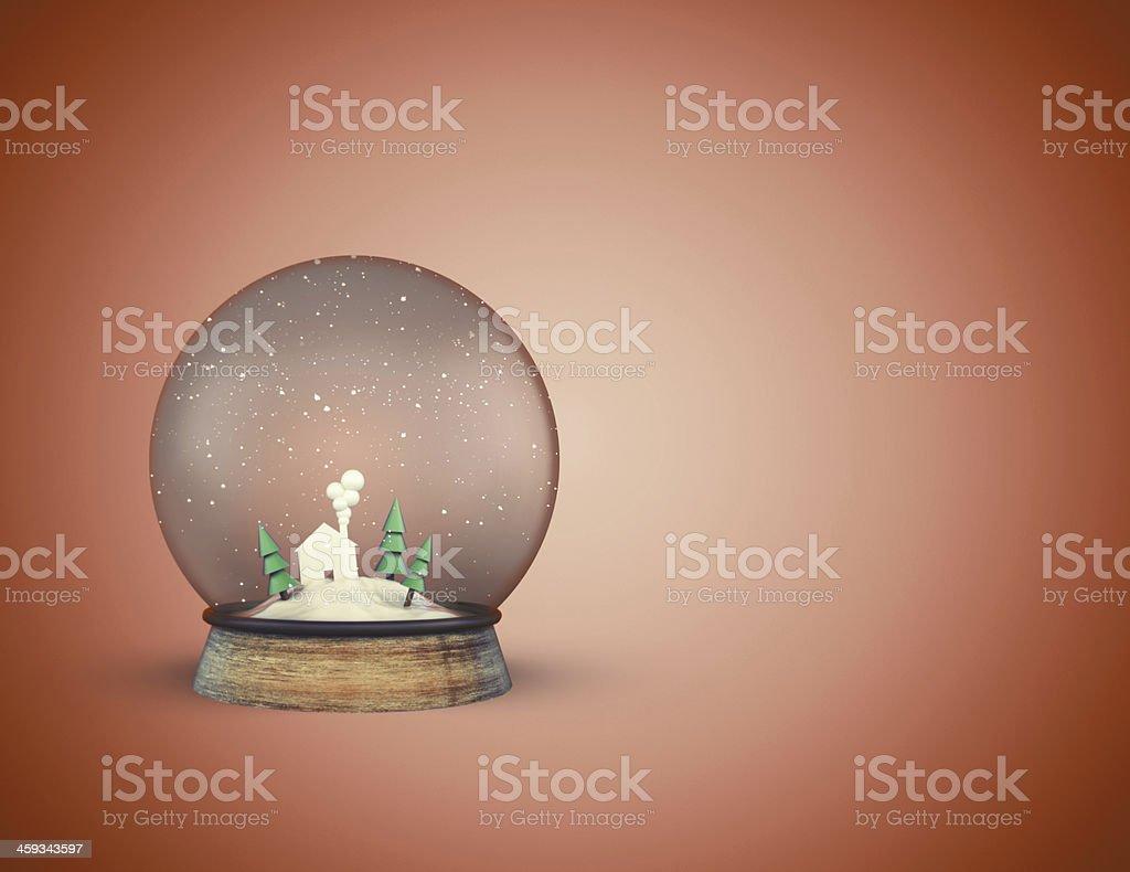 christmass glass ball stock photo