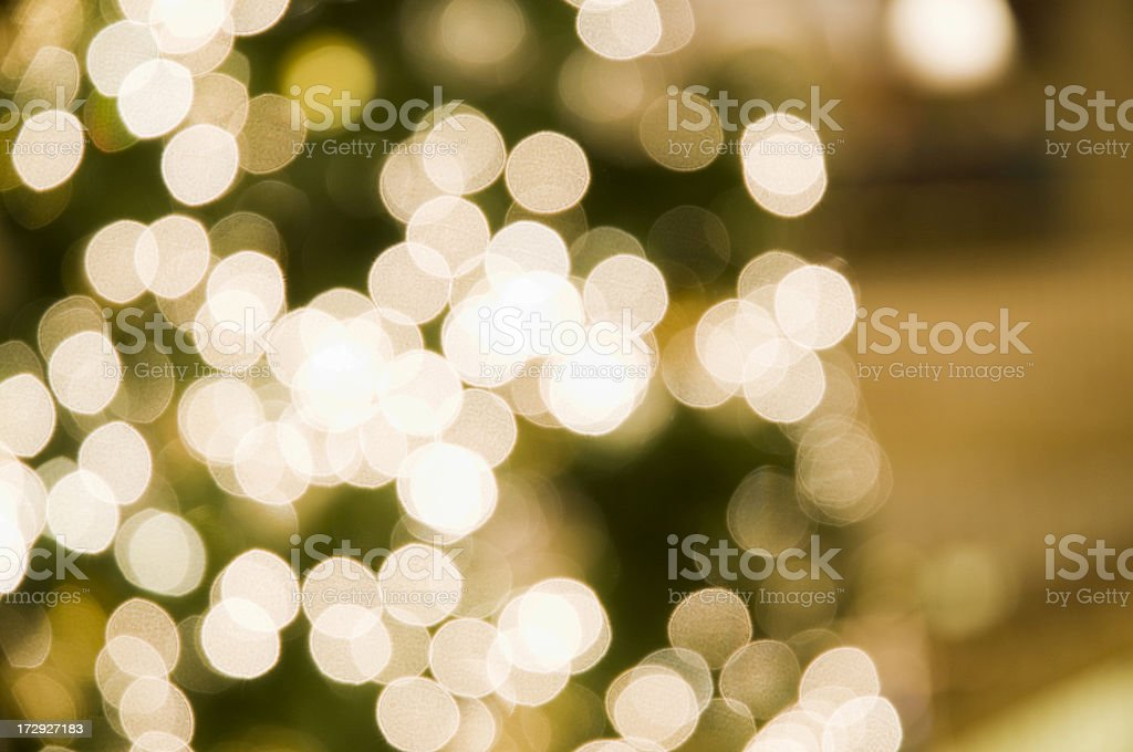 Christmass lights blur royalty-free stock photo