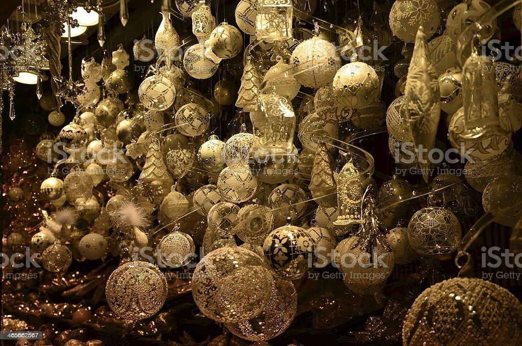 Christmas-tree decoration stock photo