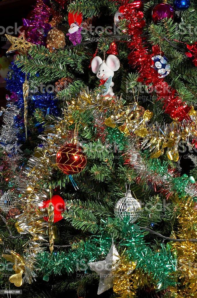 christmas-tree decoration royalty-free stock photo