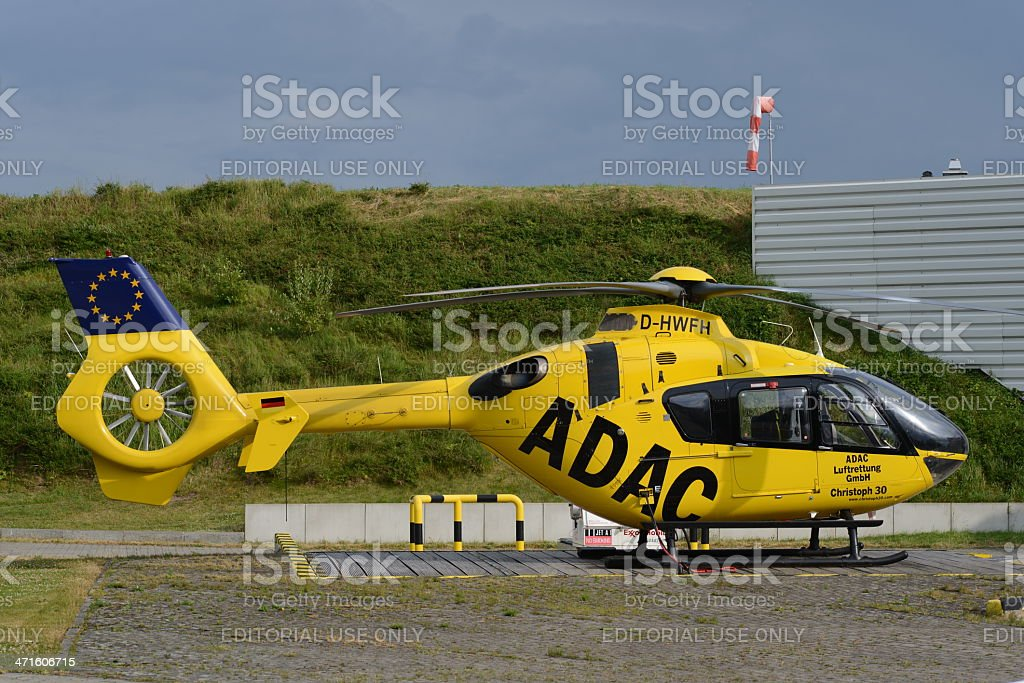 Christoph 30 Medical Evacuation Helicopter royalty-free stock photo