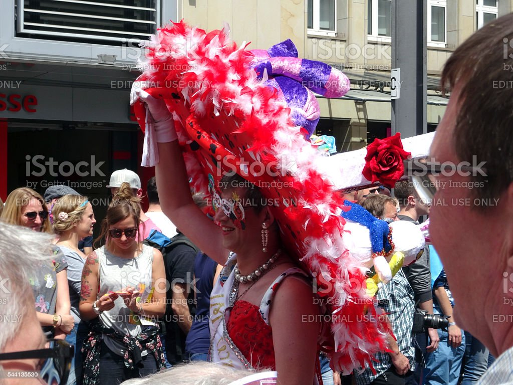Christopher Street Day in Cologne stock photo