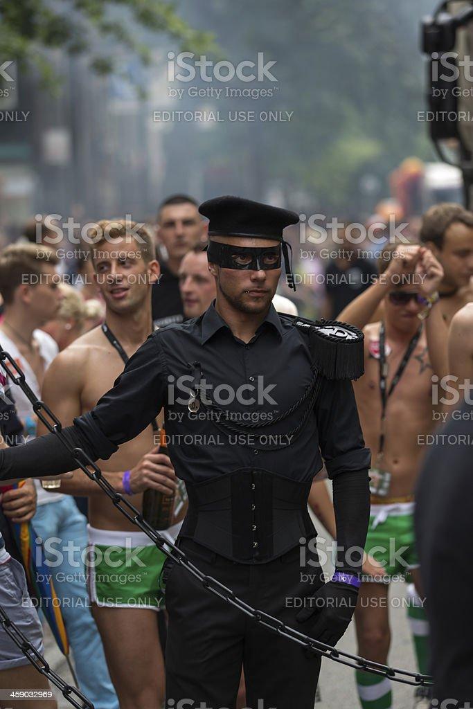 Christopher Street Day Parade 2012 stock photo