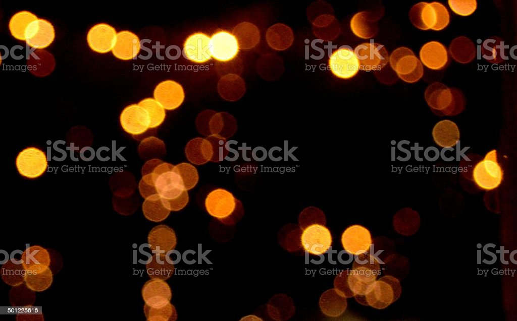 Christrmas abstract background of bokeh light stock photo