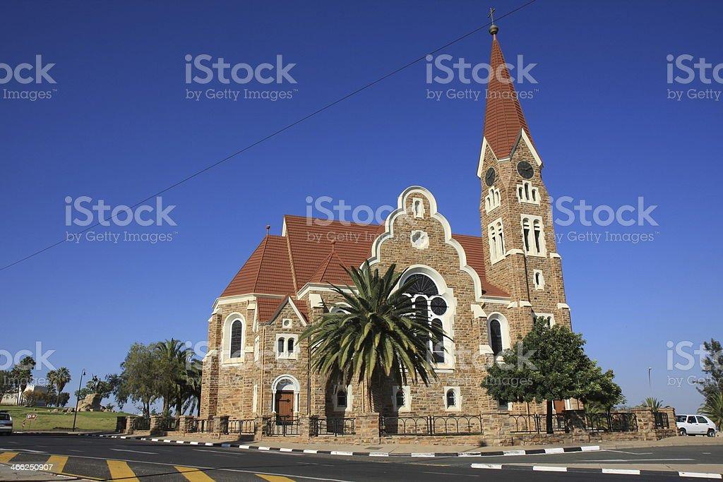 Christuskirche in Windhoek stock photo
