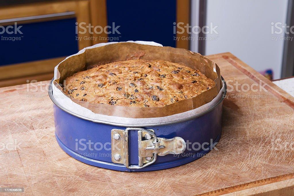 chritmas cake stock photo