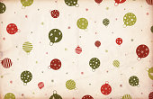 Chritmas Ornament Paper Background