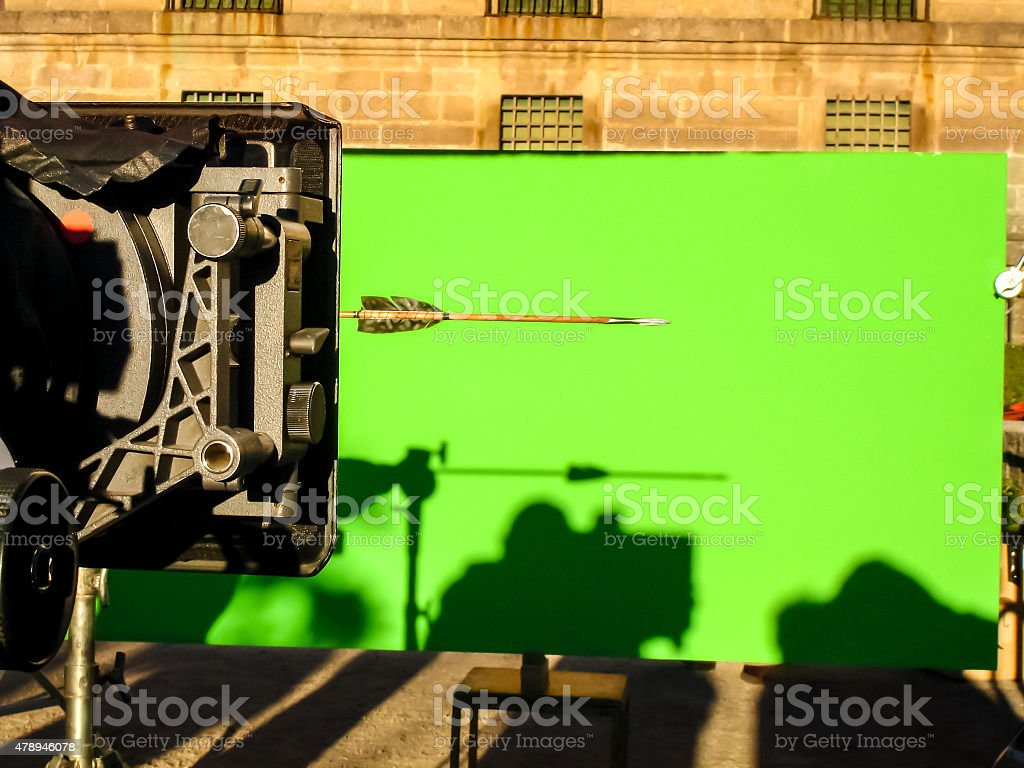 Chroma key stock photo